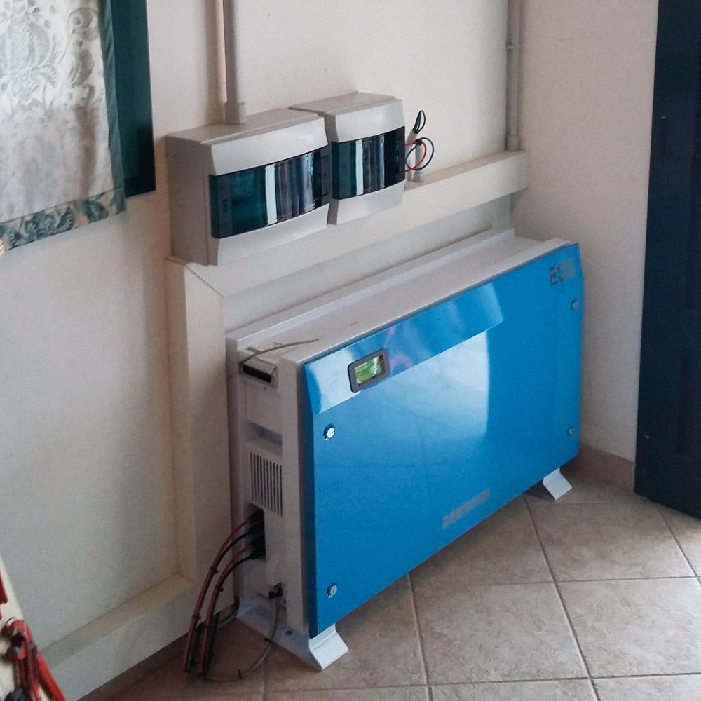 installazione sistemi accumulo ufficio ud