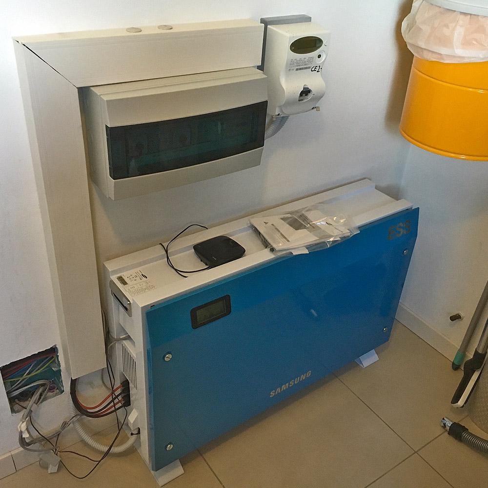 installazione sistemi accumulo casa friuli