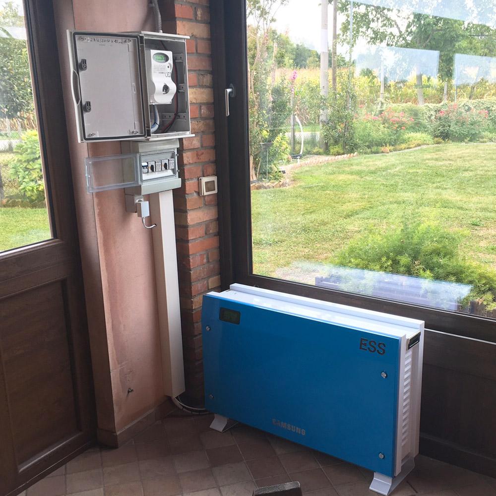 installazione sistemi accumulo casa udine