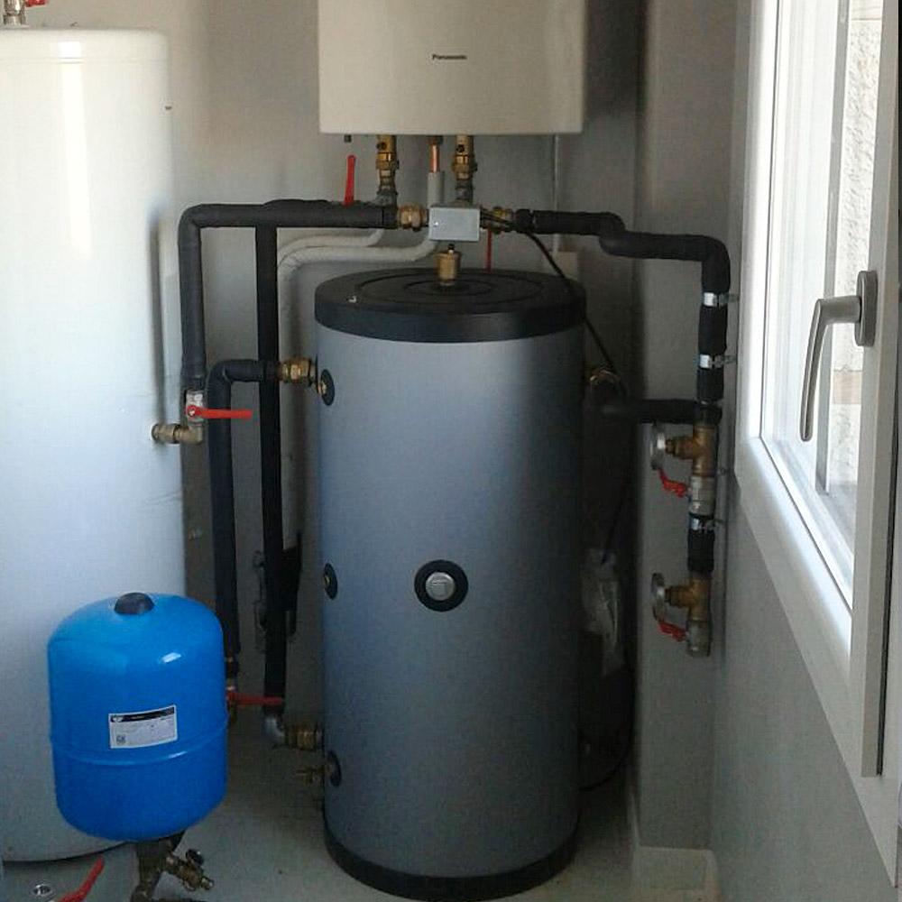 installazione boiler solare termico pn