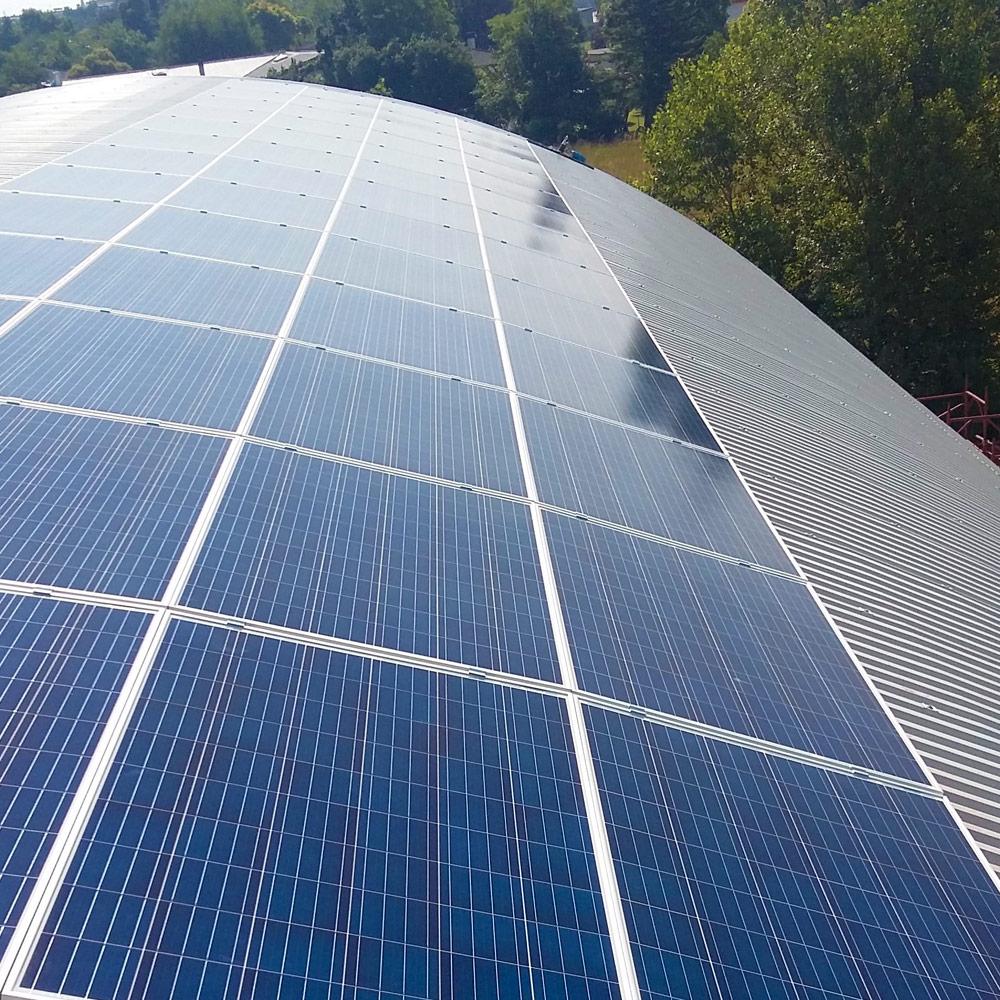 installazione impianto fotovoltaico capannone udine