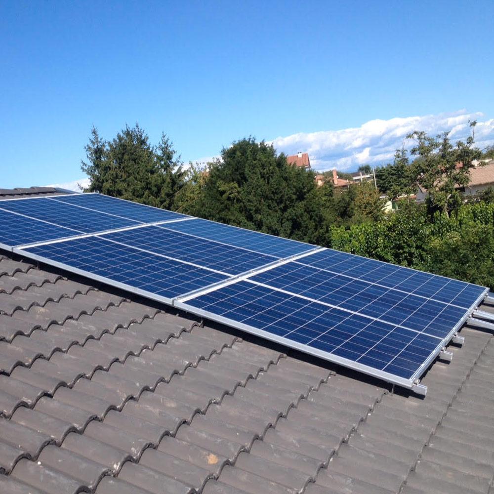 impianto fotovoltaico tetto casa udine