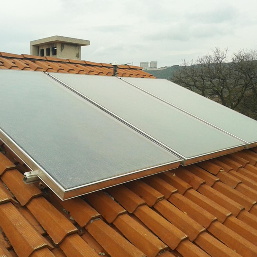 installazione solare termico tetto sacile