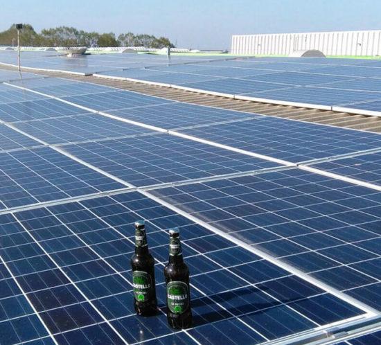 installazione capannone fotovoltaico