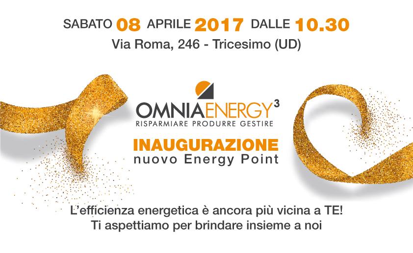 Inaugurazione Tricesimo energy point