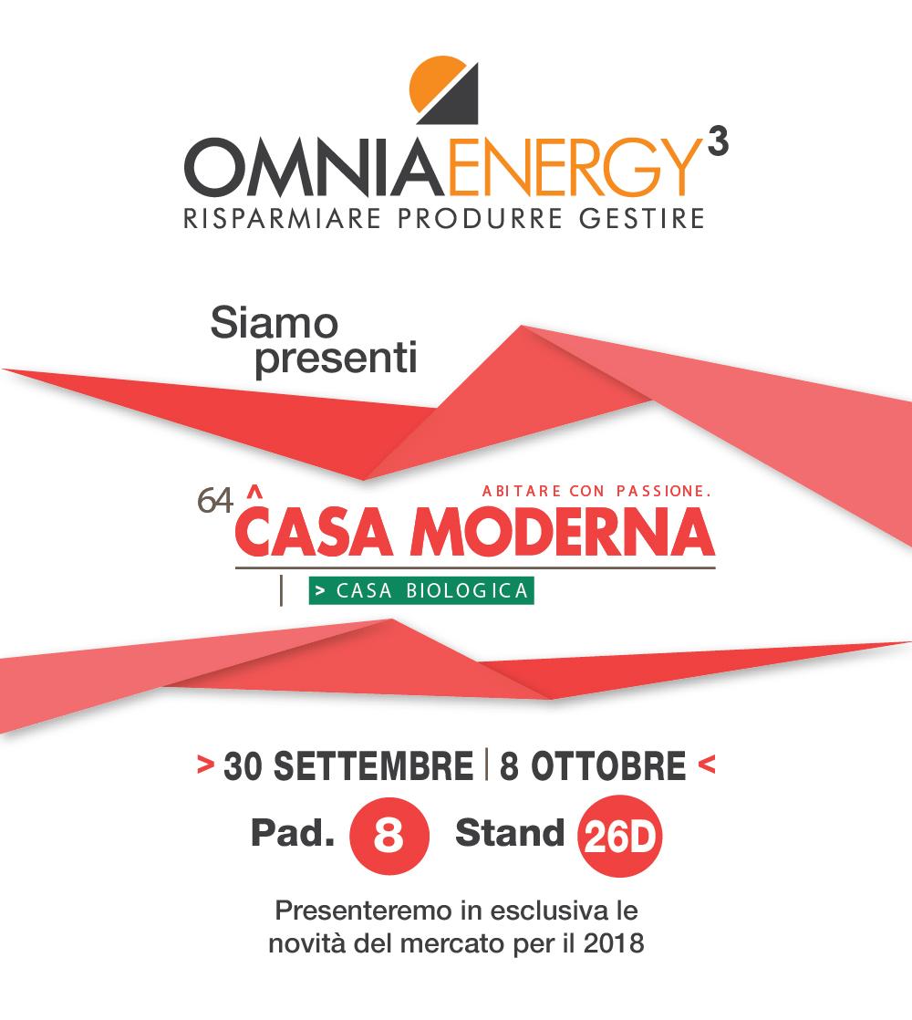 Casa moderna 2017 omnia energy3 for Casa moderna udine 2017 espositori